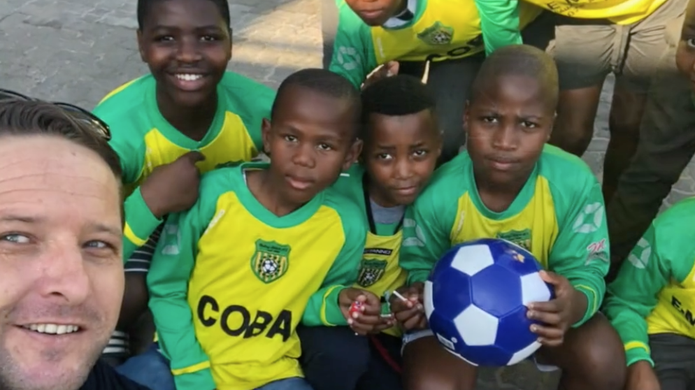 Soccer Kit Donation in Honour of Madiba